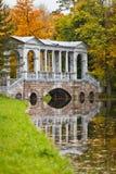 Bridge at autumn time Royalty Free Stock Photos