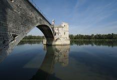 Bridge in Avignon Royalty Free Stock Photos