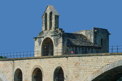 The bridge of Avignon royalty free stock photo