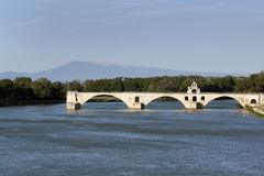 Bridge in avignon france mont ventoux Stock Photos