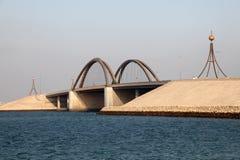 Bridge in Bahrain Stock Photography