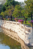 Bridge at Bang Pa-In Palace Royalty Free Stock Photo