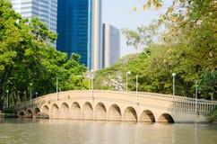 ฺBridge in the Bangkok city. Stock Image
