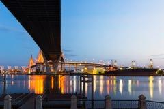 Bridge in Bangkok stock photography