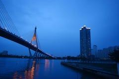 Bridge in bangkok Royalty Free Stock Photography