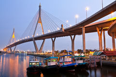 Bridge in Bangkok, Thailand Stock Photos