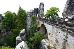 Bridge in Bastai Stock Photo