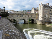 Bridge in Bath Stock Photography
