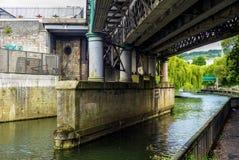 Bridge in Bath, UK Royalty Free Stock Images
