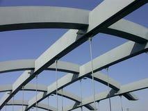 Bridge bays. Against the blue sky Royalty Free Stock Image