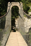 Bridge. Beautiful bridge in the mountains stock image
