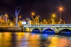 Belfast bridge. Bridge in Belfast northern Ireland stock images