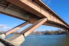 Bridge Belgrade Stock Images