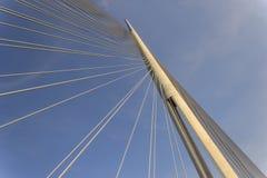 Bridge in Belgrade  Royalty Free Stock Photography