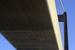Bridge from below Stock Photos