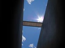 Bridge from below Royalty Free Stock Image