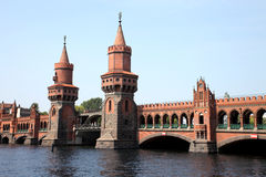 Bridge in Berlin Royalty Free Stock Photo