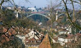 Bridge in Bern Royalty Free Stock Photos