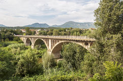 Bridge of Besalu Royalty Free Stock Images