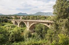 Bridge of Besalu Royalty Free Stock Images