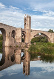 Bridge of Besalu Royalty Free Stock Photo