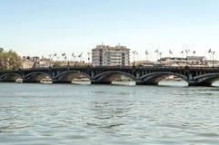 Bridge in Biarritz Stock Images