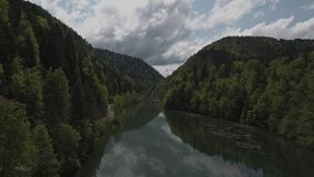 Bridge Biaufond stock video footage