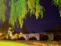 Bridge at Bickleigh, over the Exe River, Devon. Stock Images