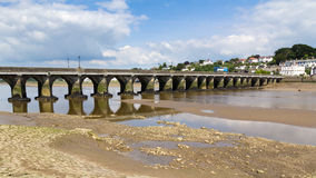 Bridge at Bideford Devon Royalty Free Stock Image