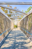 Bridge for Biking Trail Royalty Free Stock Images