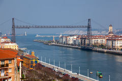 Bridge of Bizkaia Stock Images