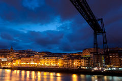 Bridge of Bizkaia Royalty Free Stock Photo