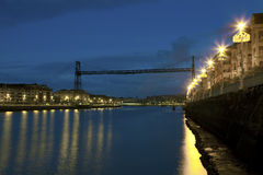 Bridge of Bizkaia, Portugalete Royalty Free Stock Photos