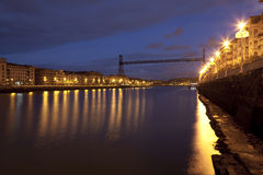 Bridge of Bizkaia, Portugalete Royalty Free Stock Images