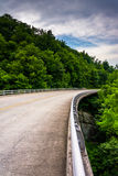 Bridge on the Blue Ridge Parkway in North Carolina. Stock Photography
