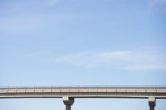 bridge on blue sky Royalty Free Stock Images