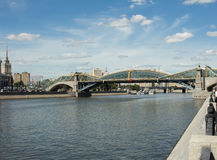 Bridge Bogdan Khmelnitsky Royalty Free Stock Images