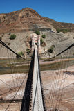Bridge in bolivia. Big bridge in bolivia on the road to sucre Stock Photos