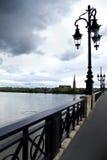 Bridge in Bordeaux Royalty Free Stock Image