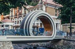 Bridge in Borjomi Royalty Free Stock Photo