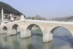 Bridge in Bosnia-Herzegovina Royalty Free Stock Image