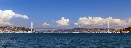 Bridge Bosporus Royalty Free Stock Photos
