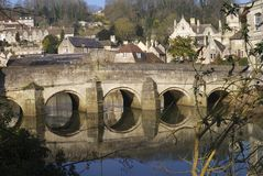 Bridge at Bradford on Avon. England Stock Photos