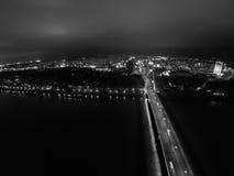 Bridge in Bratislava Stock Image