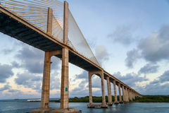 Bridge in Brazil Royalty Free Stock Photos
