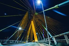 Bridge, Bright, City Royalty Free Stock Images