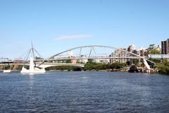 Bridge on Brisbane River Royalty Free Stock Images