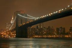 bridge brooklyn Fotografering för Bildbyråer