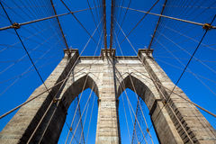 bridge brooklyn city new york Στοκ φωτογραφία με δικαίωμα ελεύθερης χρήσης