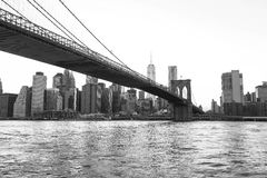 bridge brooklyn city new york Στοκ φωτογραφίες με δικαίωμα ελεύθερης χρήσης